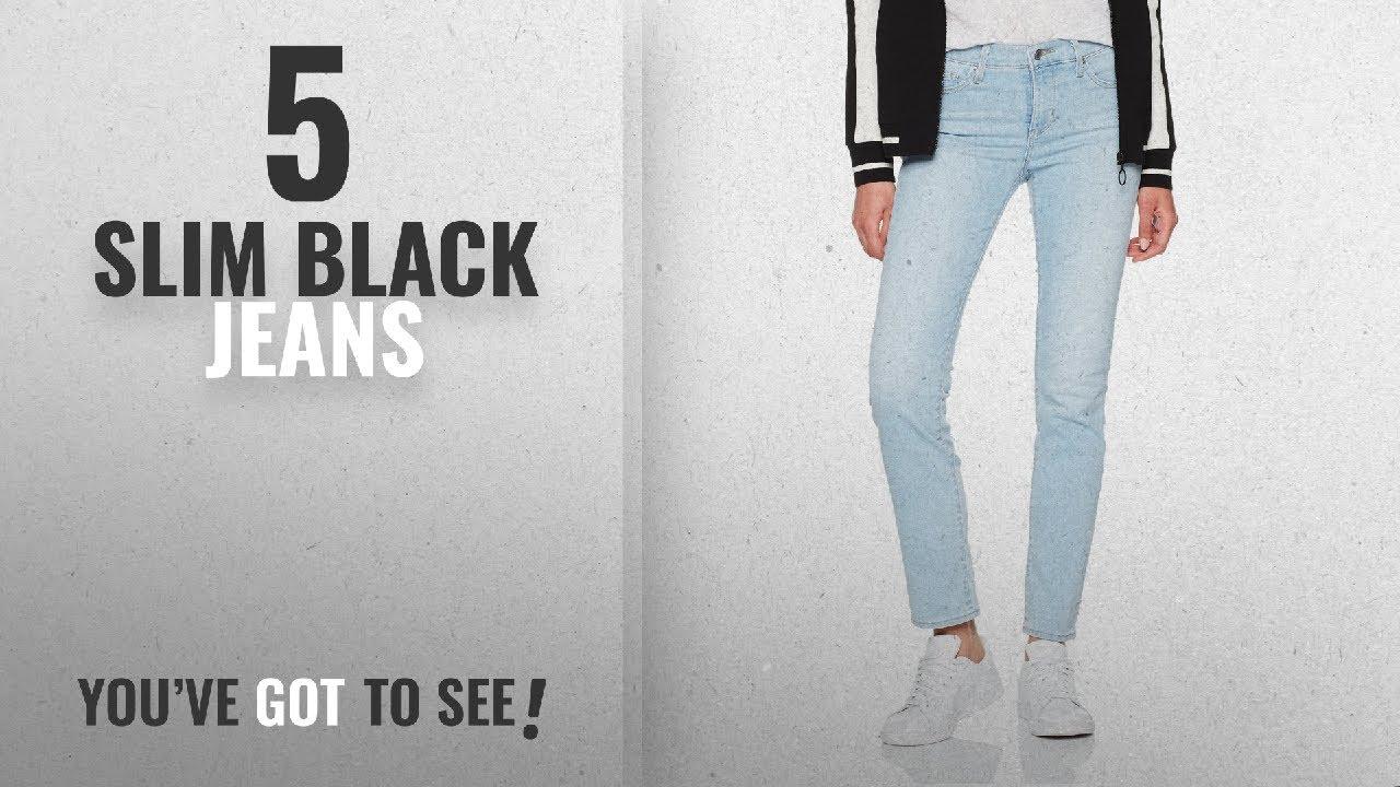 bd96860b61f Top 10 Slim Black Jeans  2018   Levi s Women s 312 Slim Jeans - YouTube