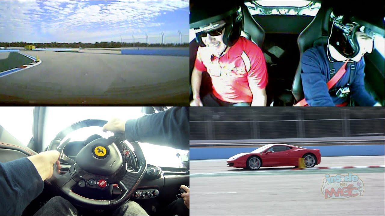Ferrari Laps At Exotic Driving Experience At Walt Disney World Pov