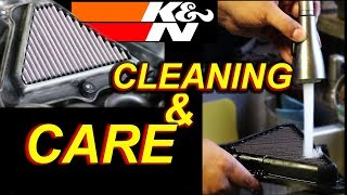 How to clean a Motorcycle Air Filter