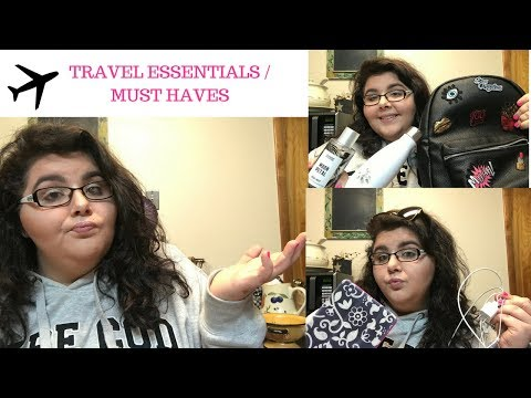10 TRAVEL ESSENTIALS/MUST HAVES!! ✈️