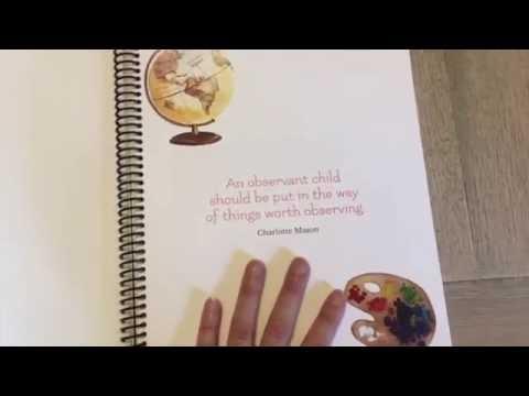 Assembling Your Charlotte Mason Quarterly Homeschool Planner