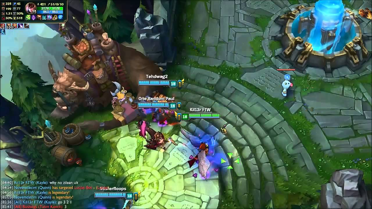 FASTEST MOVEMENT SPEED IN THE WORLD? 17224MS Quinn  Pre Season 6 - League  of Legends [OLD]