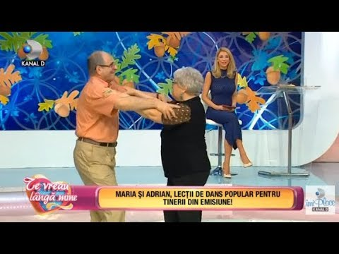 Te vreau langa mine! (13.10.2017) - Maria si Adrian, lectii de dans popular! Partea I