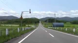【32倍速】深川市多度志~(幌加内町)道の駅ほろかない 2012.7.21