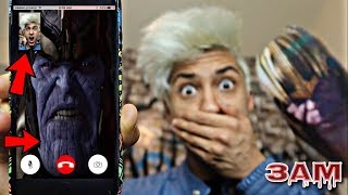 DO NOT FACETIME THANOS AT 3AM!! *OMG HE CAME TO MY HOUSE*
