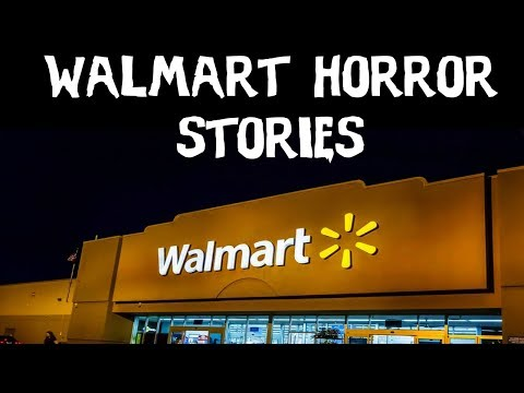 10 TRUE Terrifying Walmart Horror Stories Told In The Dark (Scary Stories)