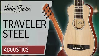 Harley Benton - Traveler Steel -