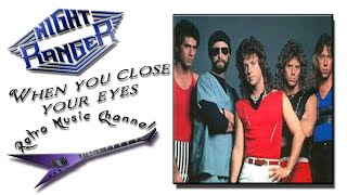 Night Ranger - When you close your eyes (lyrics)