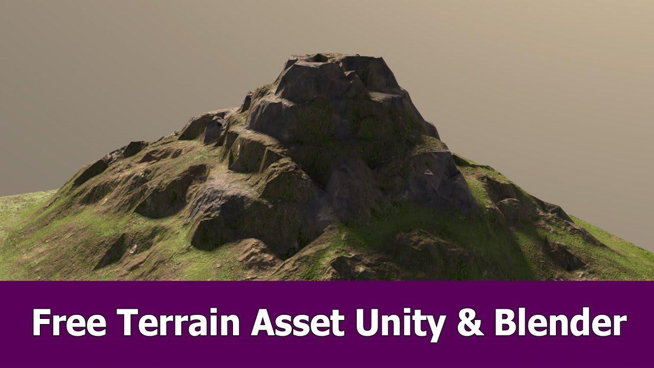Free Unity Terrain for Blender Cycles - BlenderNation