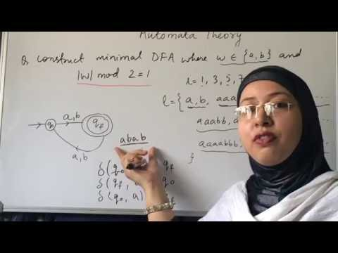 THEORY OF COMPUTATION OR AUTOMATA THEORY. PROBLEMS BASED ON DFA. LEC-5