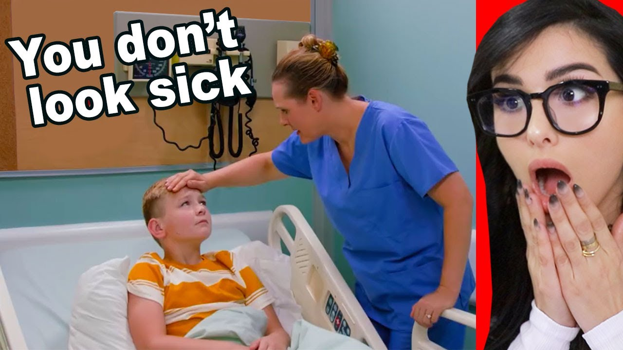 Download Kid Fakes Being Sick To Stay Out Of School