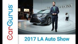 2018 Lexus RX 350L   2017 LA Auto Show