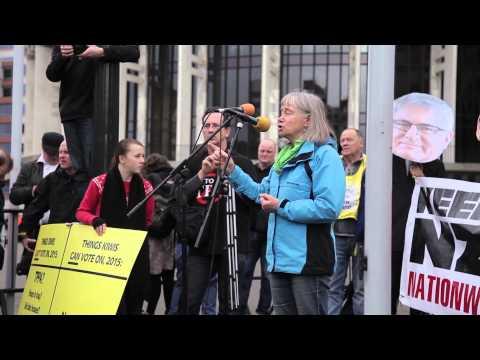 Wellington TPPA Protest 15.08.15
