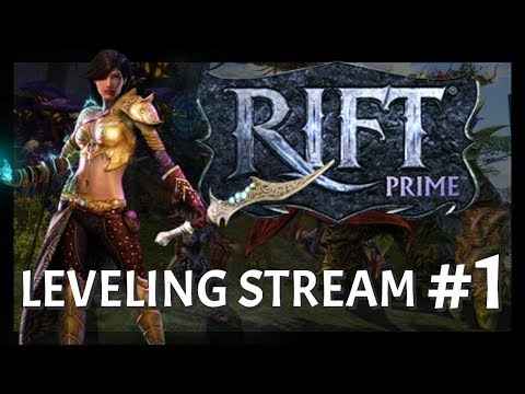 RIFT Prime: Leveling Stream #1 | I hope this $14.99 server is worth it