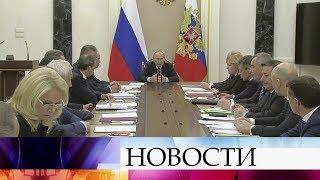 Назаседании вКремле обсуждают индексацию пособий для военных пенсионеров.