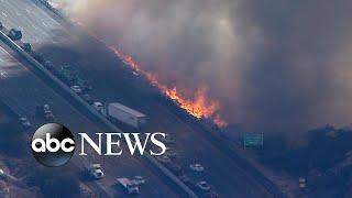 New fires ignite in California amid devastation