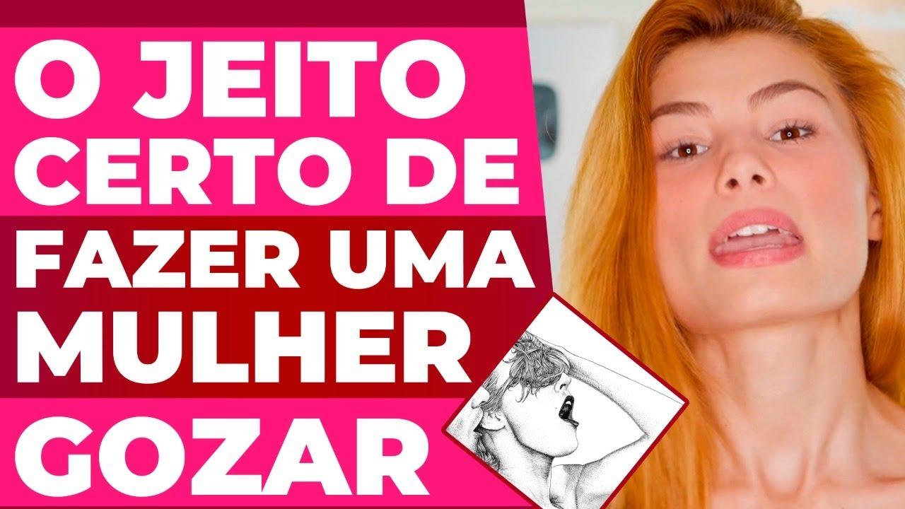 O JEITO CERTO DE CHUPAR UMA MULHER