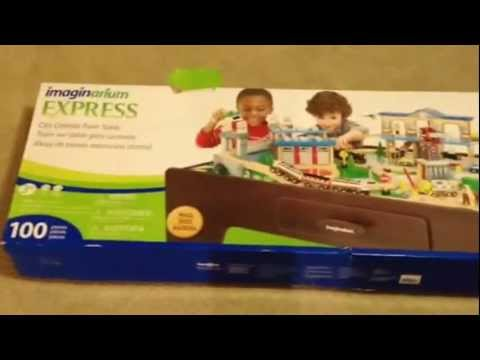Imaginarium Express Central Train Table Assembly Instructions - YouTube