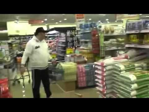 supermarket during quake 8.9 in Japan, tokyo march 2011 東京都スーパー店内の様子.avi