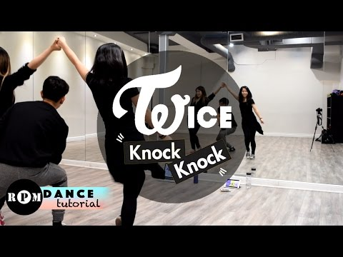 Twice Knock Knock Dance Tutorial (Chorus)