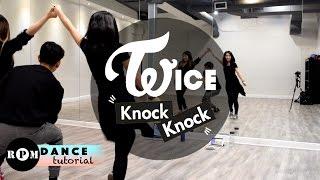 """Twice """"Knock Knock"""" Dance Tutorial (Chorus)"""
