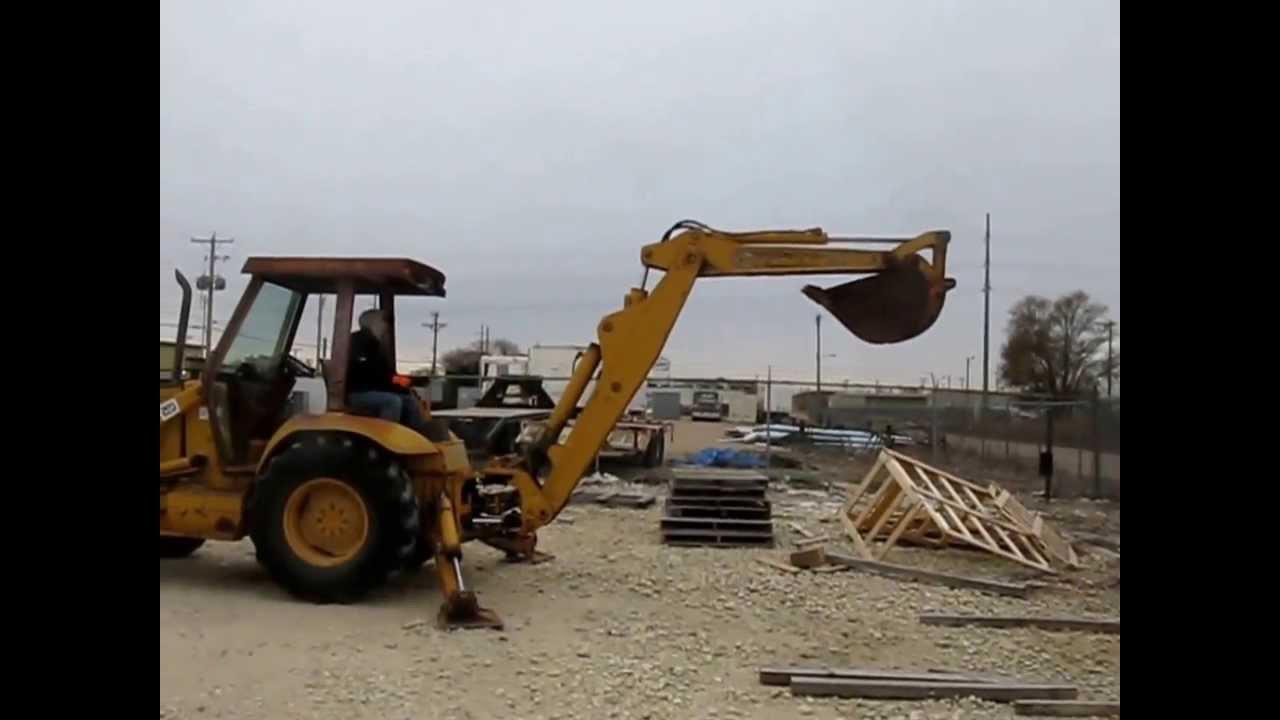 1991 Case 580 Super K Construction King backhoe for sale | sold at auction  December 19, 2013
