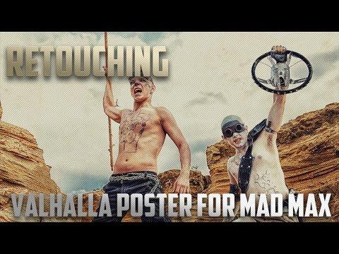 [Retouching] Valhalla poster for Mad Max | Обработка фотографии №3