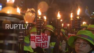 South Korea  Protesters continue to demand President Park's resignation