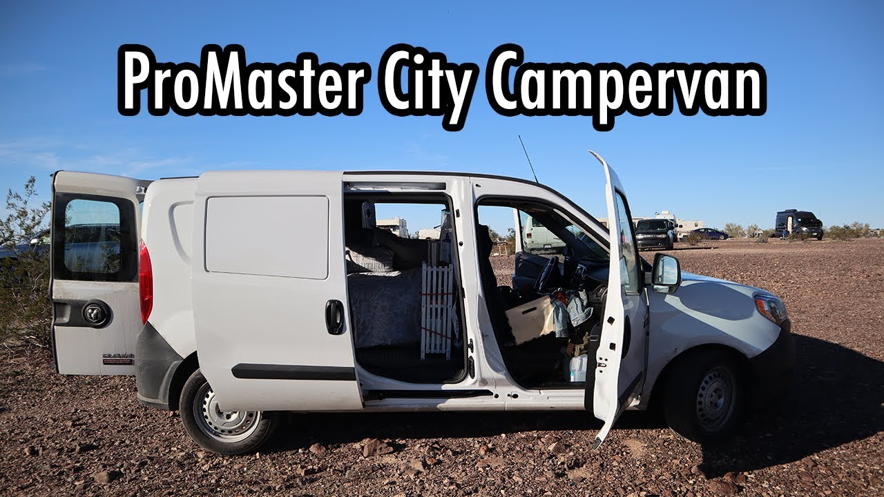 WHAT A GREAT RIG! Touring a Ram ProMaster City Camper Conversion Van