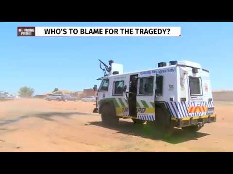 Mayor Msimanga chased away by Soshanguve residents after five kids died
