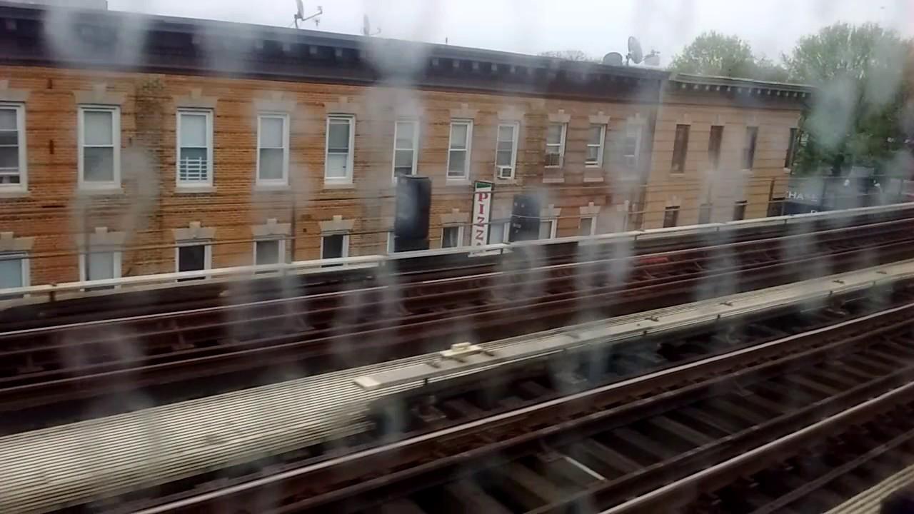 NYC Subway HD: Riding Coney Island bound R160A F Train ...
