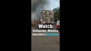 Watch: El Chapo's drug cartel turns a Mexican town into a warzone!