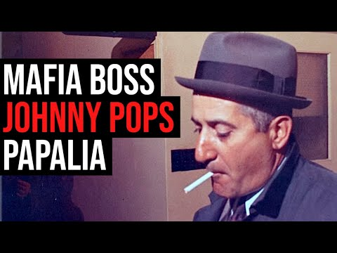 """The Enforcer"" — Mafia Boss Johnny 'Pops' Papalia"