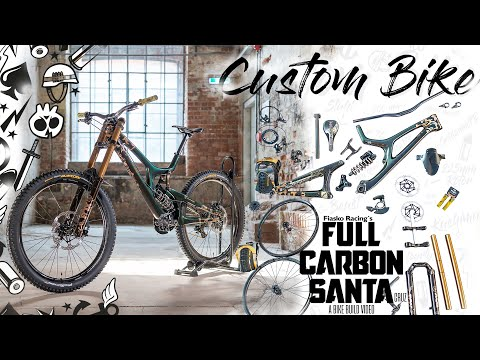 SICK BIKE BUILD 🛠 Santa Cruz V10 ➕ flip flop paint job⚡ Dream custom DH MTB Project