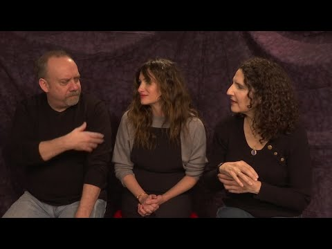 'Private Life' stars Paul Giamatti and Kathryn Hahn share drama school memories