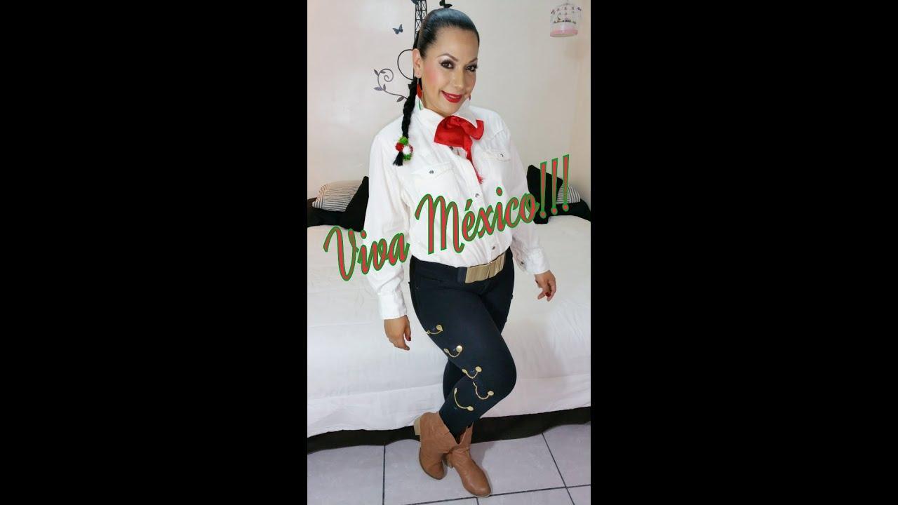 Diy Pantalón Y Maquillaje Para Noche Mexicana