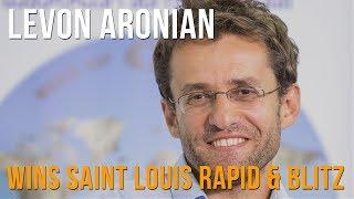 Levon Aronian on winning the 2019 Saint Louis Rapid & Blitz