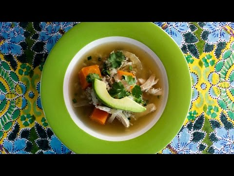A Mexican Twist On Chicken Noodle Soup