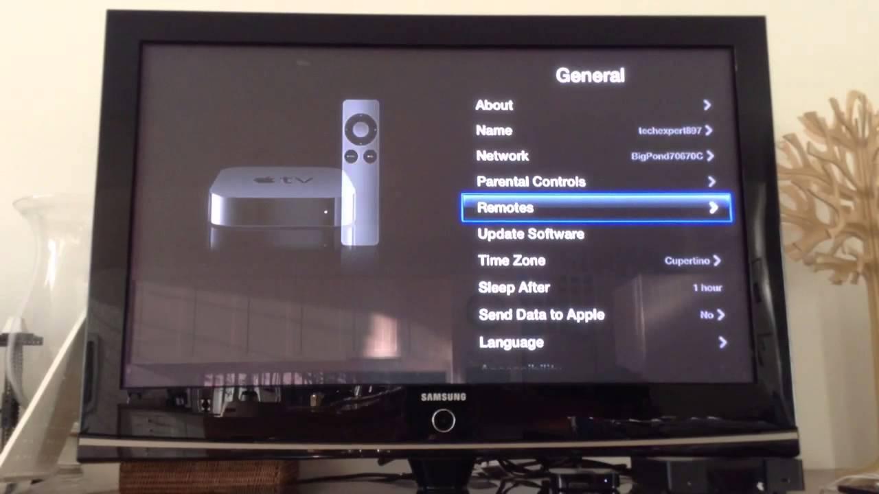 apple tv 4 turn off led