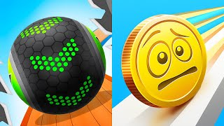 Going Balls Vs Coin Rush All Levels Android, iOS Gameplay Mobile