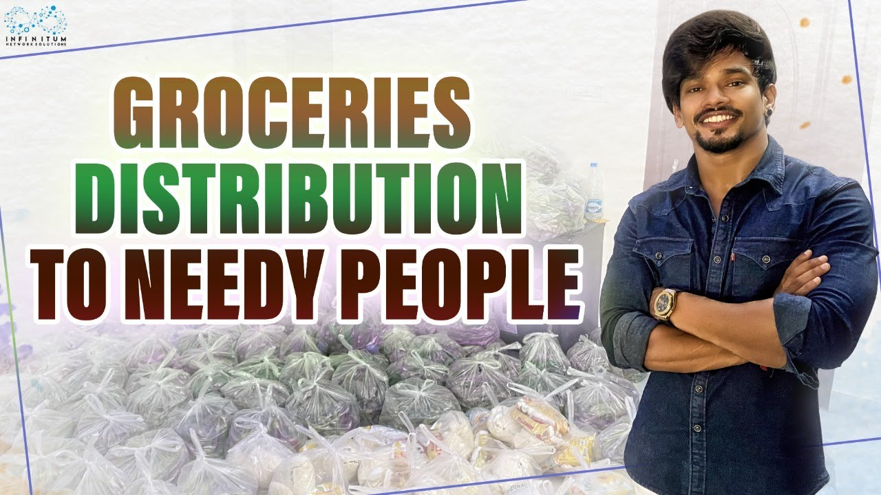 Groceries Distribution  to needy people || Mehaboob Dil Se || Infinitum Media