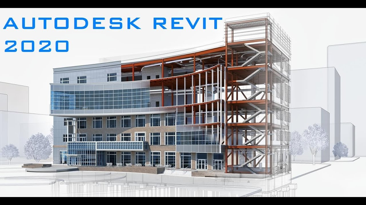Revit 2020 - Tutorial for Beginners [General Overview]