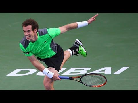 Borna Coric vs Andy Murray 2-0 Dubai Tennis Championships 26.02.2015