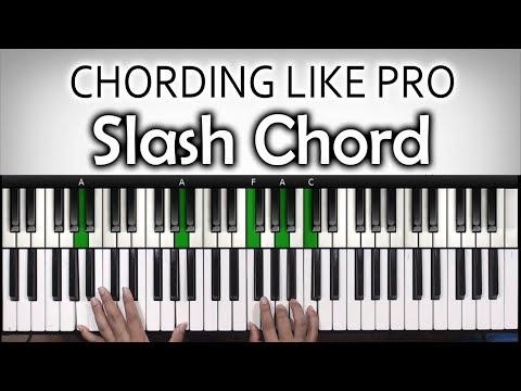 Chord Chord Keren #4 | SLASH CHORD  | Belajar Piano Keyboard