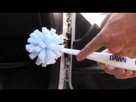 A Great Tool For Cleaning Car Door Jambs!