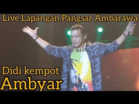 Didi Kempot Ambyar Live Lapangan Pangsar Jendral Sudirman Ambarawa