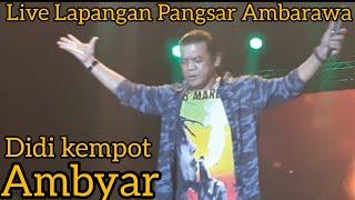 Download Didi Kempot Ambyar Live Lapangan Pangsar Jenderal