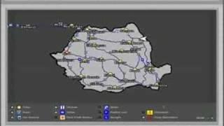 Wheels Steel Haulin Romanian Map