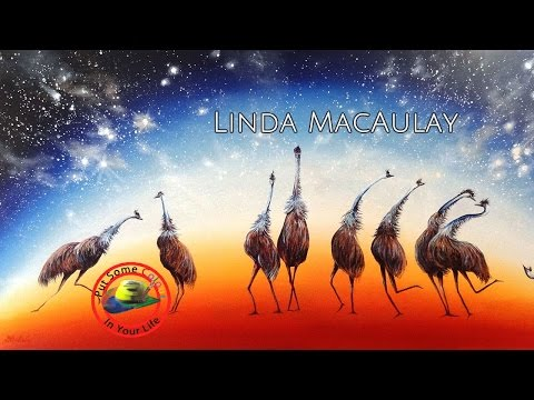 Fine art tips on How to Paint Acrylic Desert Scenes with Linda MacAulay on Colour In Your Life