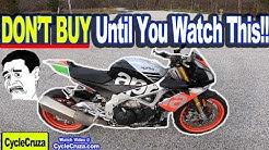 DON'T BUY Aprilia Tuono V4 1100 Until You Watch This